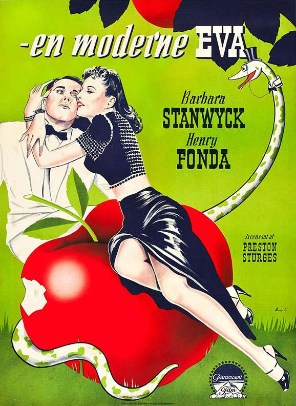 1941_TheLadyEve_Danish